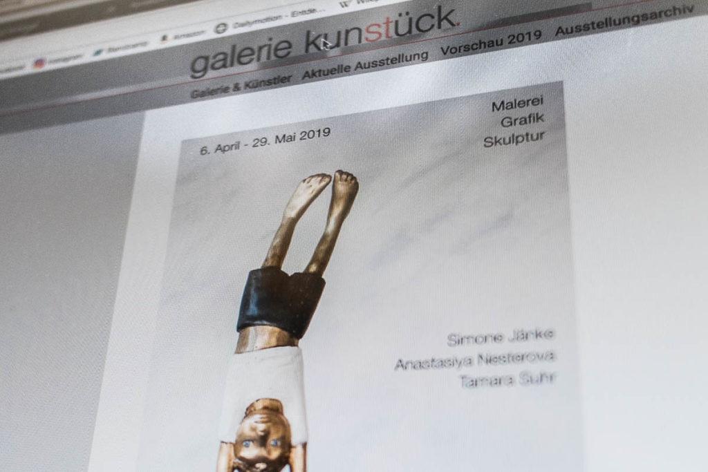 Web Galerie Kunstück