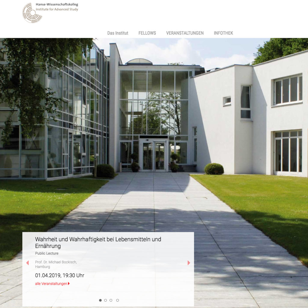 Web Hanse-Wissenschaftskolleg
